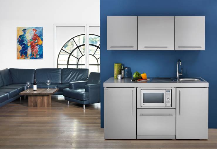 Stengel Küchen - Pantryküchen aus Metall:  Küche von lemoboo AG