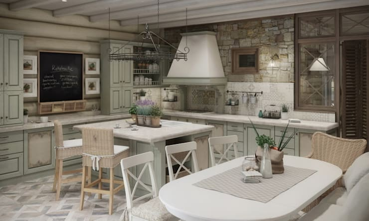 Dining room by MJMarchdesign