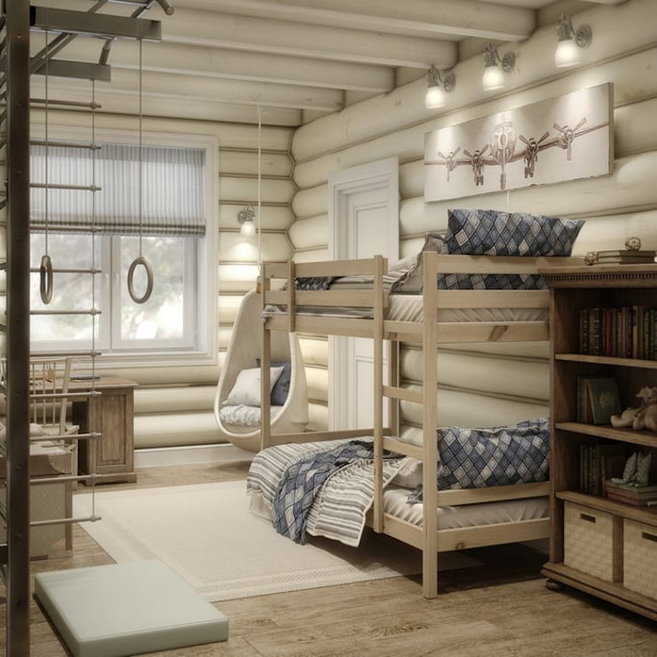 Dormitorios infantiles de estilo  por MJMarchdesign