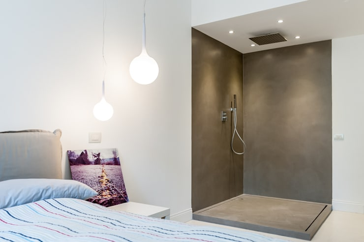 zero6studio Monteverde: Camera da letto in stile in stile Minimalista di Paolo Fusco Photo