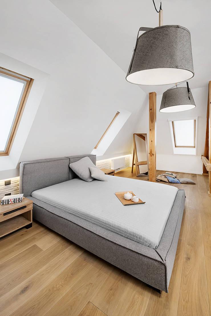 Wrocław / Biskupin, dom – 365m2: styl , w kategorii Sypialnia zaprojektowany przez razoo-architekci