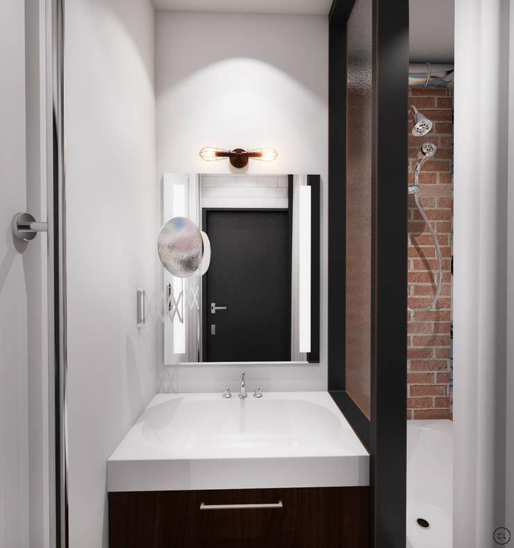 Ванные комнаты в . Автор – Circle Line Interiors