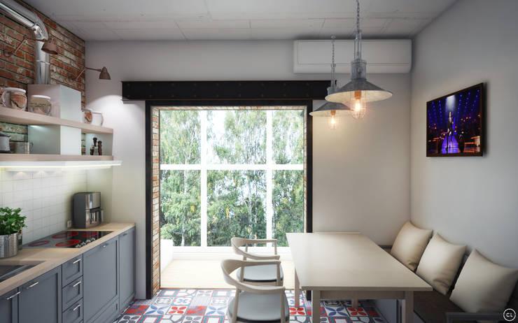Кухни в . Автор – Circle Line Interiors