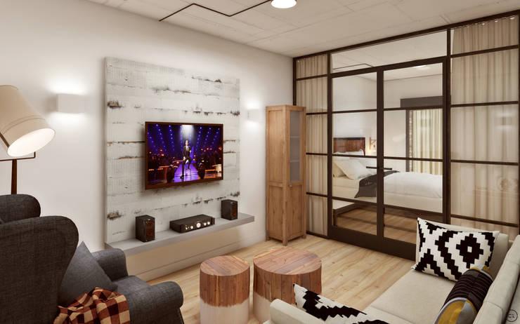 Гостиная в . Автор – Circle Line Interiors