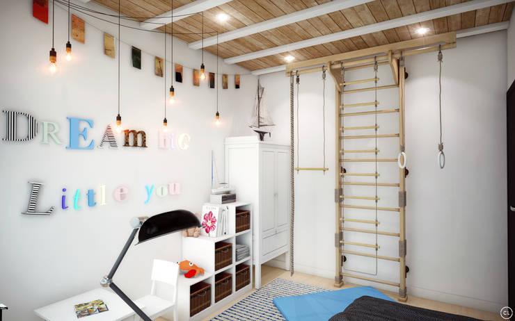 Детские комнаты в . Автор – Circle Line Interiors