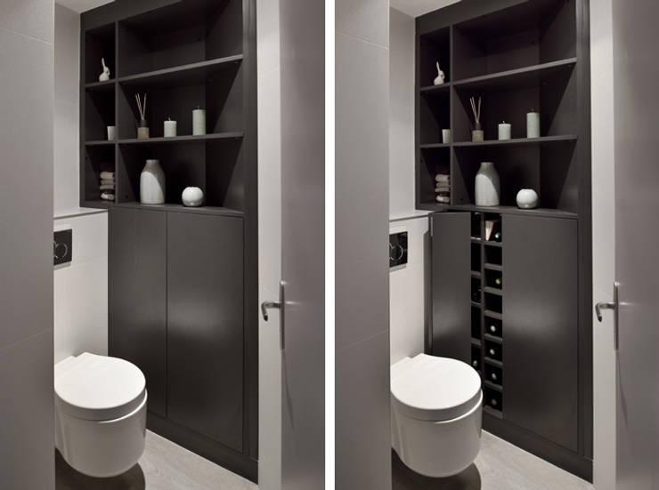 modern Bathroom by Marion Lanoë Architecte d'Intérieur