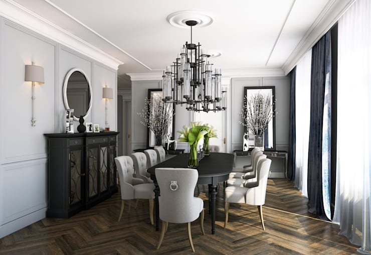 Квартира в Караганде: Столовые комнаты в . Автор – seven2seven studio