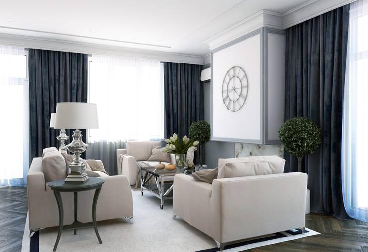 Квартира в Караганде: Гостиная в . Автор – seven2seven studio