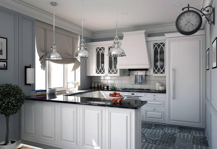 Квартира в Караганде: Кухни в . Автор – seven2seven studio