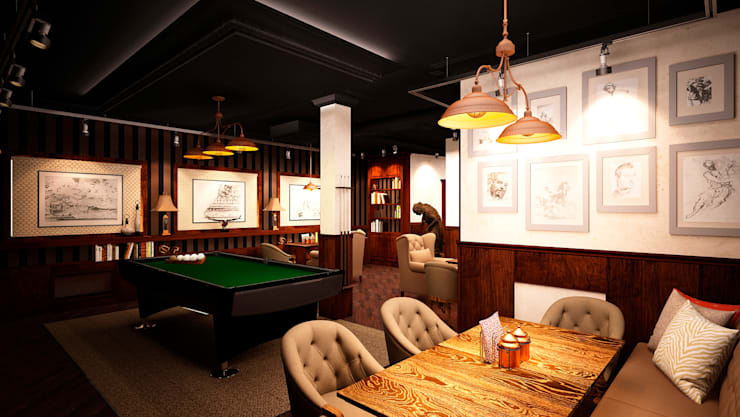 Арт-бар, г. Санкт-Петербург: Бары и клубы в . Автор – EM design