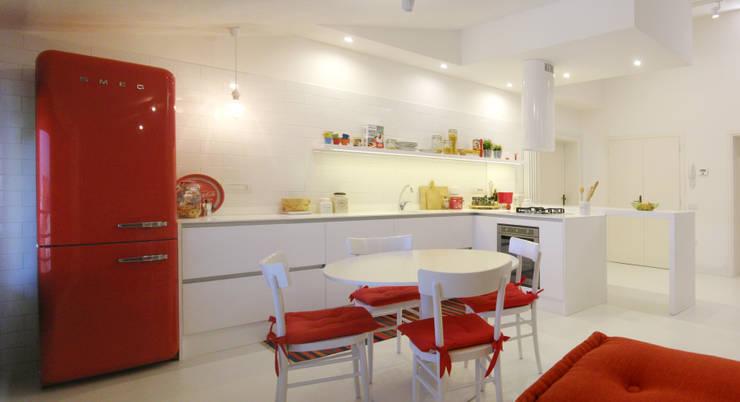 Cocinas de estilo  por msplus architettura