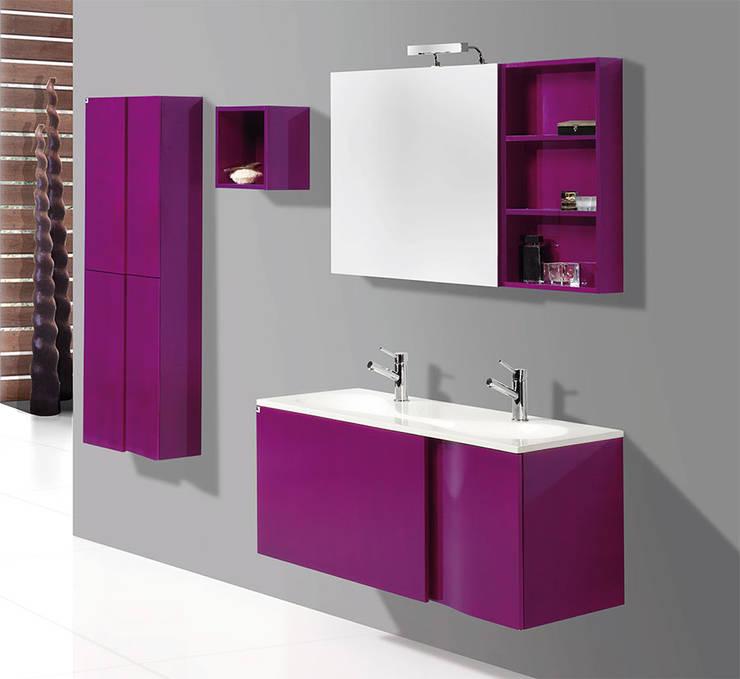 Muebles de baño modernos : Baños de estilo  de Bañoweb