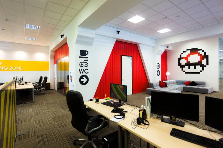 Levi9: Рабочие кабинеты в . Автор – 27Unit design buro