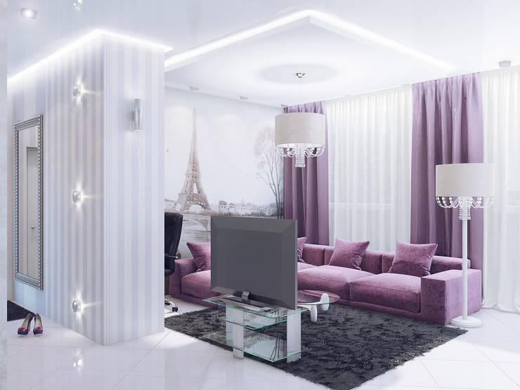 Salas de estilo  por Ольга Рыбалка