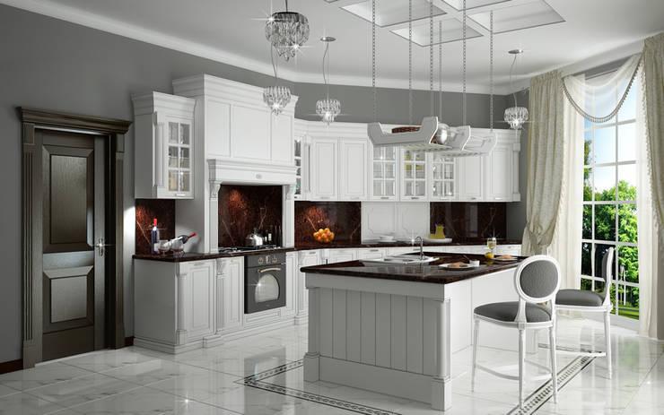 Interiors: Кухни в . Автор – Виктория Лаврик