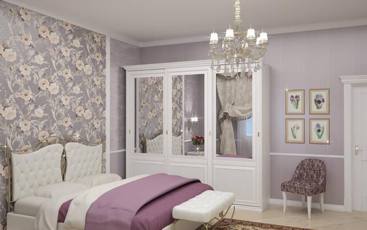 Interiors: Спальни в . Автор – Виктория Лаврик