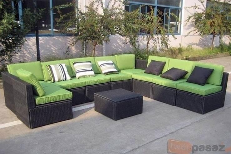 Rattanowe meble ogrodowe: styl , w kategorii Ogród zaprojektowany przez Granos Group Sp. z o.o.,