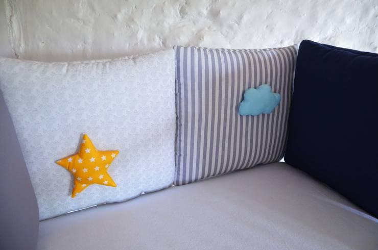 Tour de lit bébé - Collection \'HouHou\' pour petit garçon von ShanouK ...
