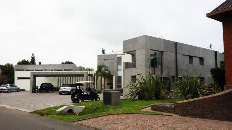 Casa YD - Estancia Abril: Casas de estilo  por de Jauregui Salas arquitectos