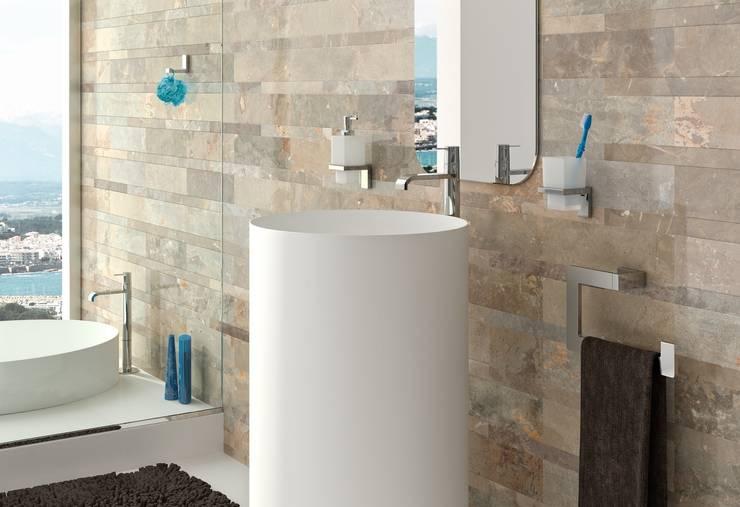 Accesorios de baño - Colección MIA - BAÑO DISEÑO: Baños de estilo moderno de Baño Diseño
