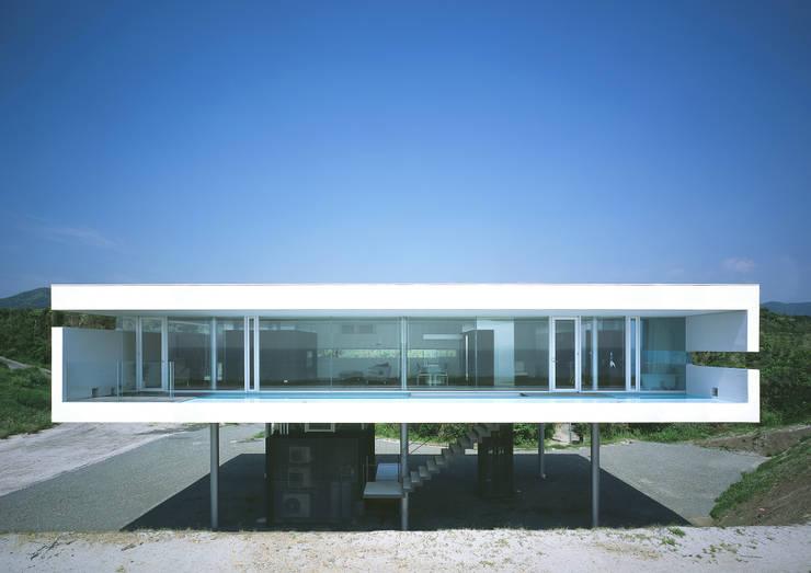 東シナ海を望む家: アトリエ環 建築設計事務所が手掛けた家です。