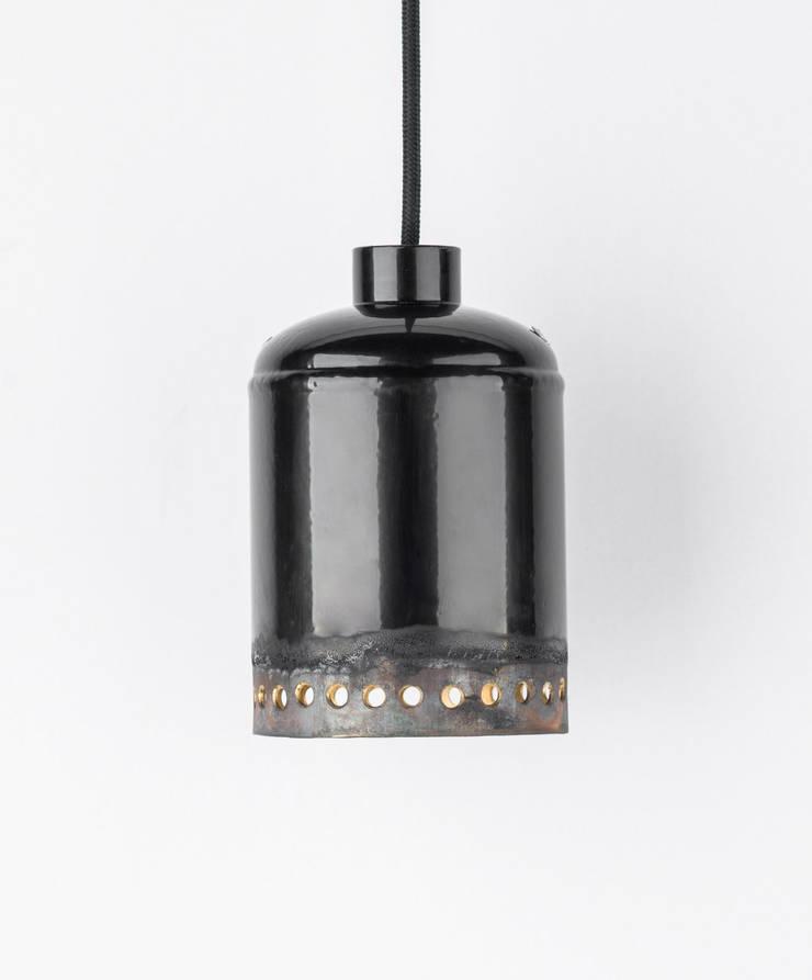 EX 03: styl , w kategorii  zaprojektowany przez Firelamps,Industrialny Aluminium/Cynk