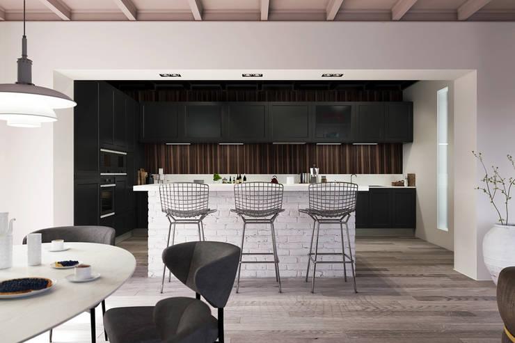 Projekty,  Kuchnia zaprojektowane przez Artur Akopov