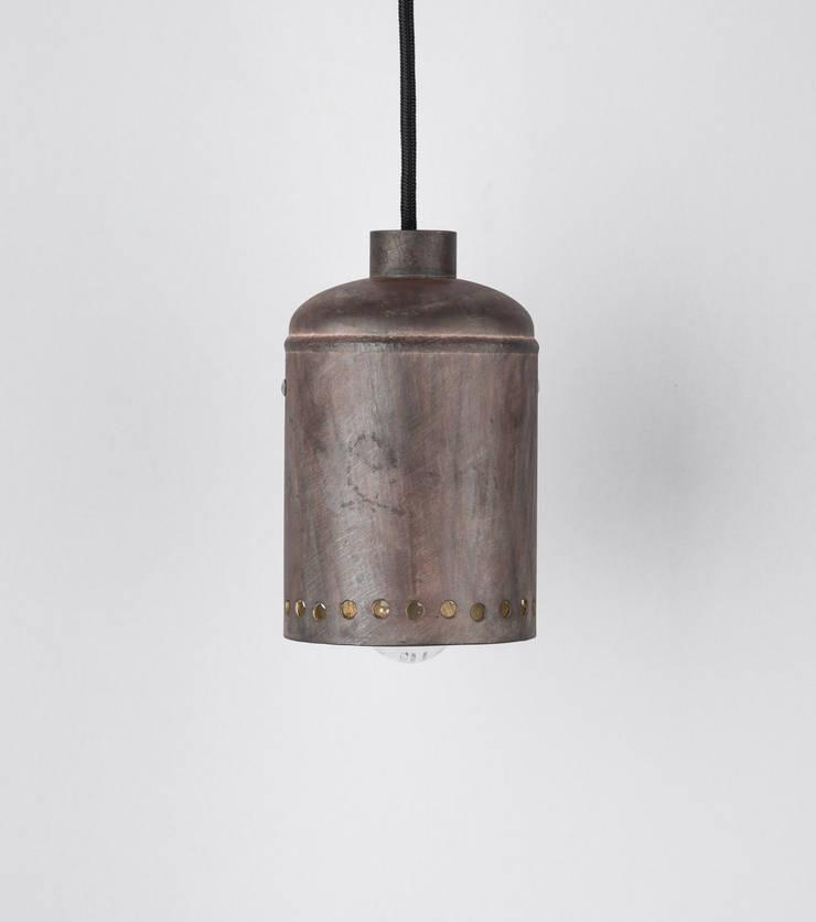 EX 02: styl , w kategorii  zaprojektowany przez Firelamps,Industrialny Aluminium/Cynk