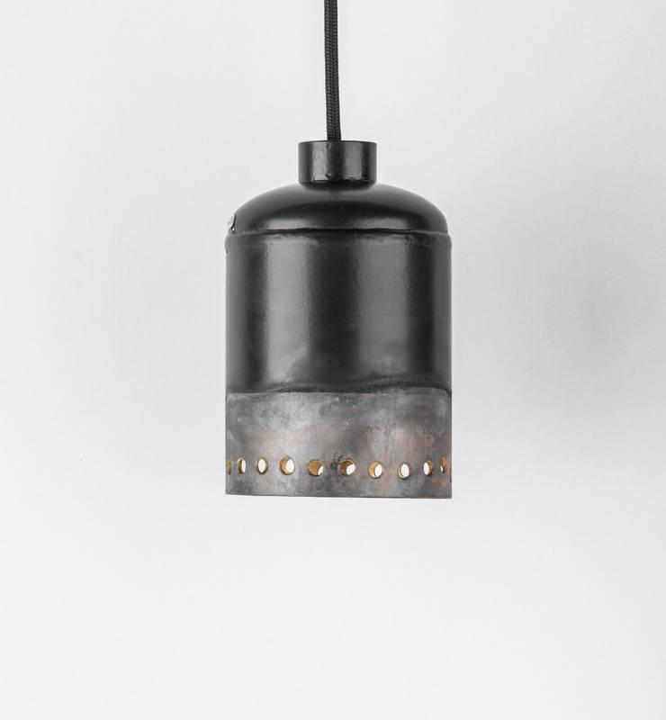 EX 01: styl , w kategorii  zaprojektowany przez Firelamps,Industrialny Aluminium/Cynk