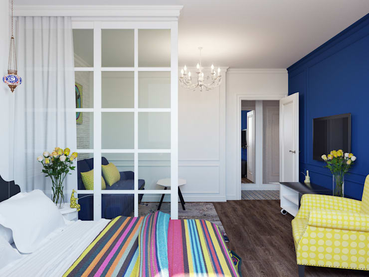 Квартира для аренды: Гостиная в . Автор – Оксана Мухина,