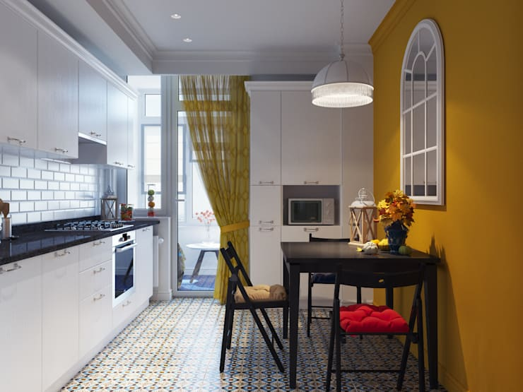 Квартира для аренды: Кухни в . Автор – Оксана Мухина,