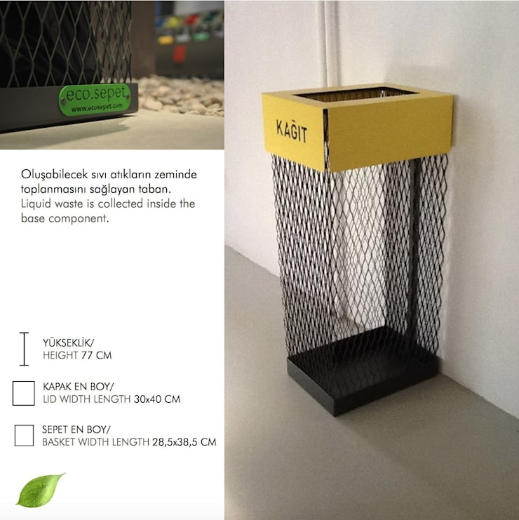 Yasemin Artut DESIGN STUDIO – ECO.SEPET:  tarz İç Dekorasyon