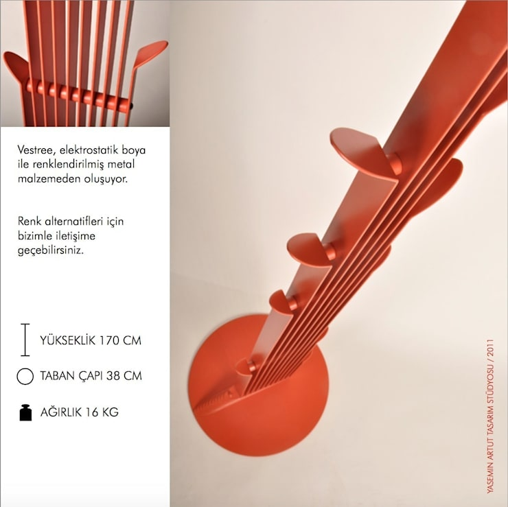 Yasemin Artut DESIGN STUDIO – VESTREE:  tarz İç Dekorasyon