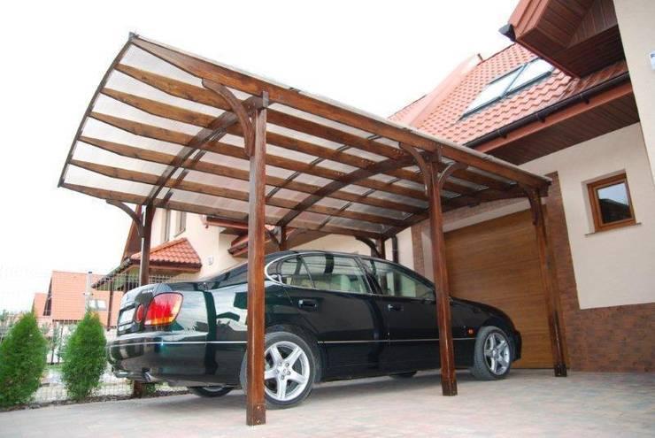 industrial  by Jagram SA - Drewniana Architektura Ogrodowa, Industrial