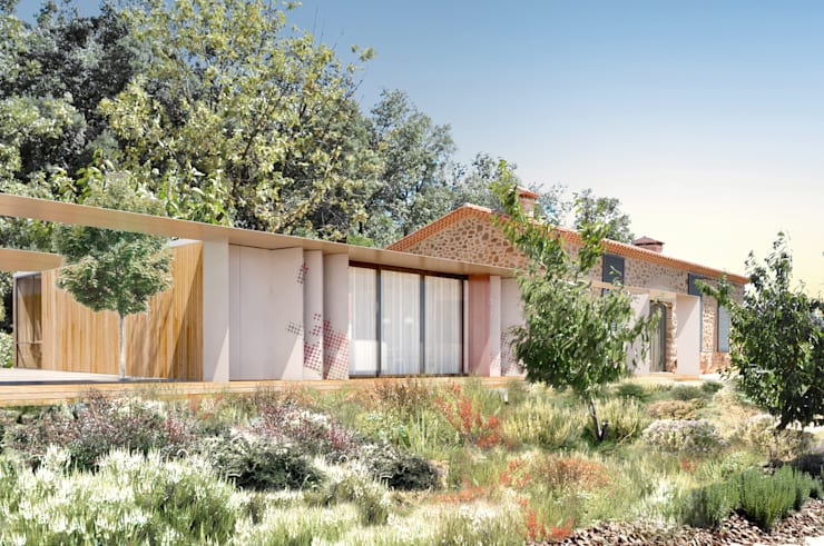 Casas campestres por Estudio de Arquitectura Teresa Sapey