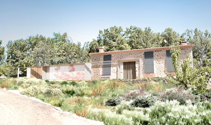 Дома в . Автор – Estudio de Arquitectura Teresa Sapey