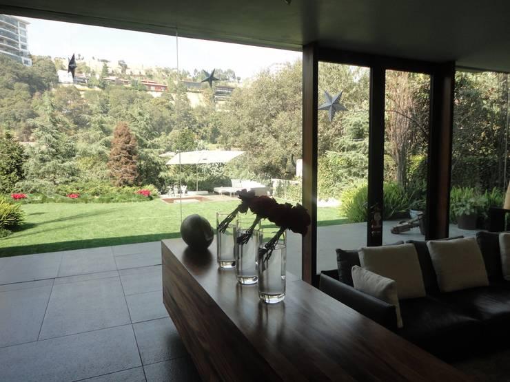 JARDÍN RESIDENCIA: Jardines de estilo  por PAISAJE MEXICANO