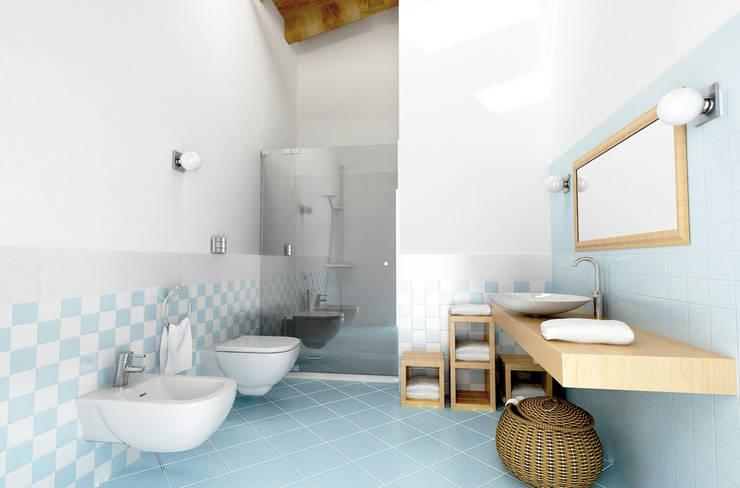 BAGNO: Bagno in stile in stile classico di Laura Sardano