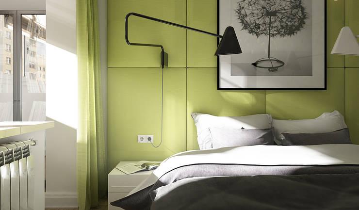 Спальня: Спальни в . Автор – MONTE FEE INTERIOR DESIGN STUDIO