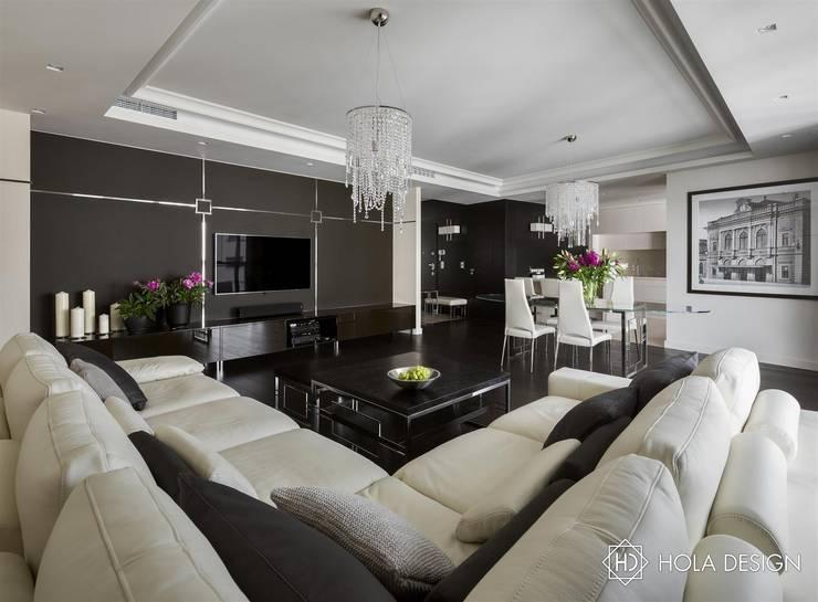 Szczypta glamour: styl , w kategorii  zaprojektowany przez HOLA DESIGN,Nowoczesny