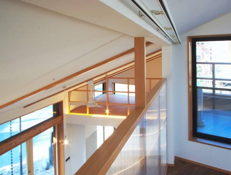 ARGA 姶良の雑木林の家: 太田則宏建築事務所が手掛けた子供部屋です。