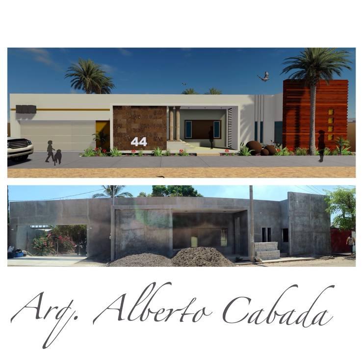 Residencia estilo minimalista de Arquitectos Culiacán Minimalista
