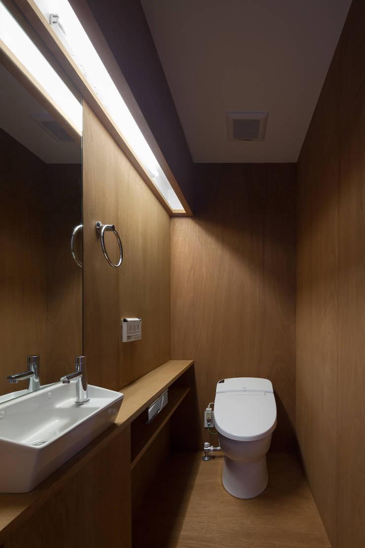 anguilla house: 吉田慎二/建築・計画ワイズスタジオが手掛けた浴室です。