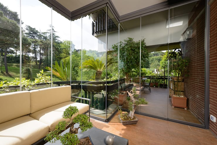 Le Verande srls: modern tarz Kış Bahçesi
