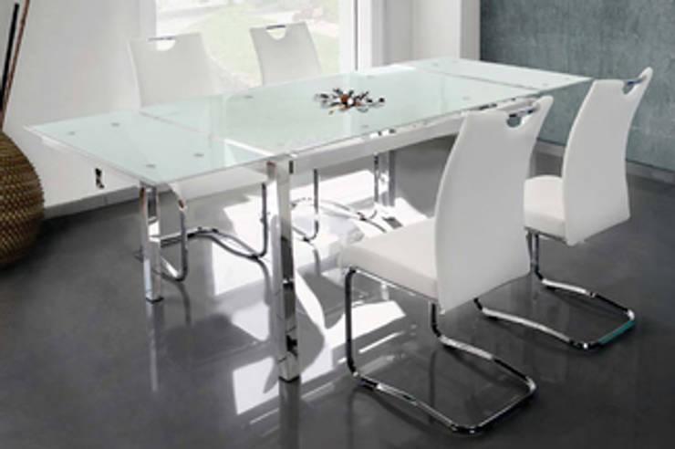 Sala da pranzo in stile in stile Moderno di tumundodecor.com