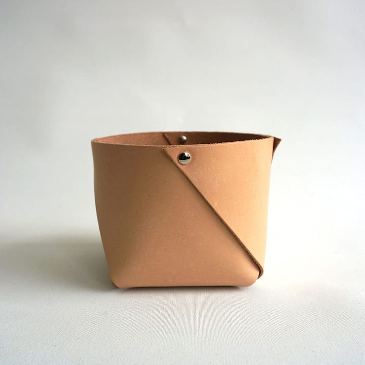 leather container West, small:   door ROWOLD, Minimalistisch