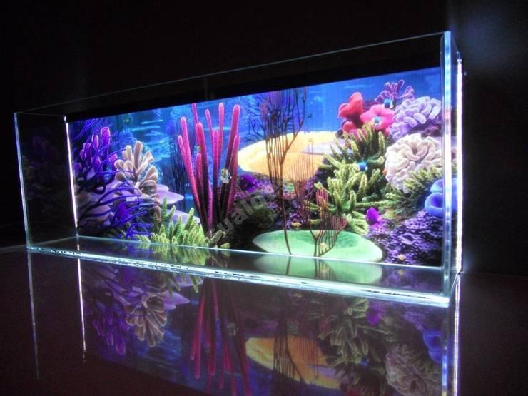 Akwarium Led : styl , w kategorii Gospodarstwo domowe zaprojektowany przez Visual Design