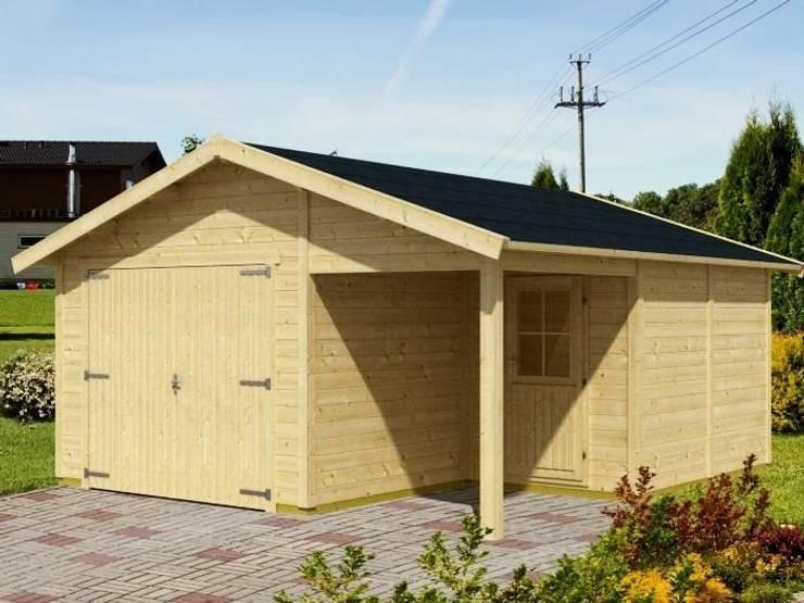 Garaż VERSUS MIX: styl , w kategorii Garaż zaprojektowany przez Ogrodolandia