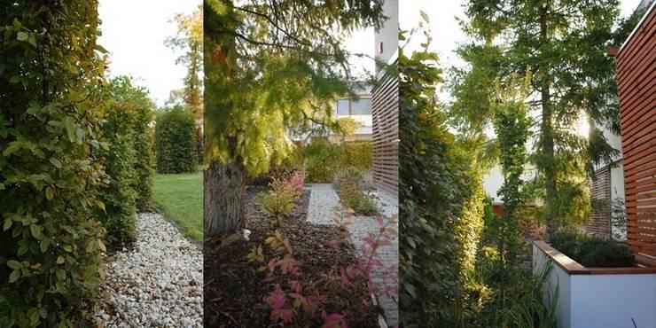 jesienne kolory: styl , w kategorii  zaprojektowany przez Autorska Pracownia Architektury Krajobrazu Jardin ,