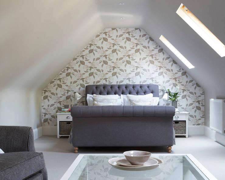 Cuartos de estilo  por Emma & Eve Interior Design Ltd, Rural